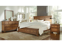 Alder Creek King Storage Bedroom Set