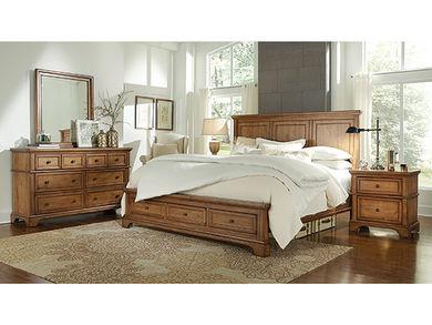 Alder Creek King Storage Bedroom Set