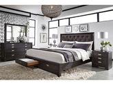 Front Street Upholstered King Bedroom Set