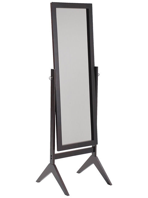 Picture of Espresso Contemporary Cheval Mirror