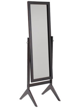 Espresso Contemporary Cheval Mirror