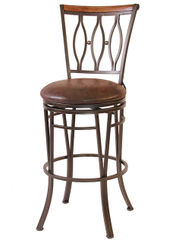 Marsol 24 inch Swivel Stool