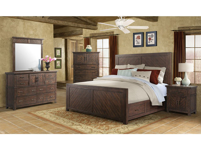 Jax King Storage Bedroom Set