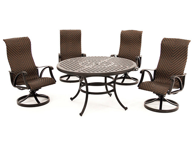 Picture of Castle Rock Table with Four Swivel Rockers