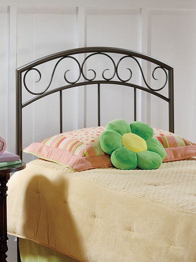 Wendell Black Twin Headboard