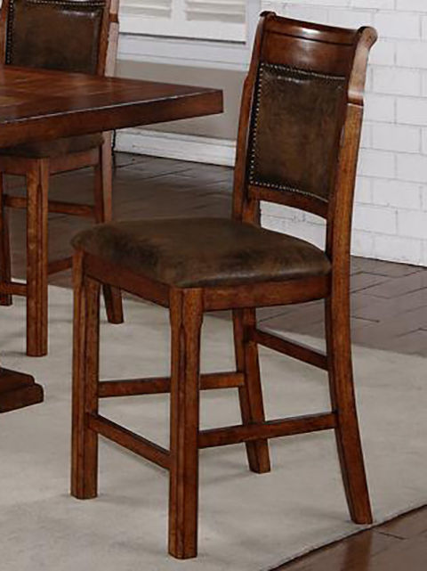 Picture of Austin Walnut 24 inch Stool