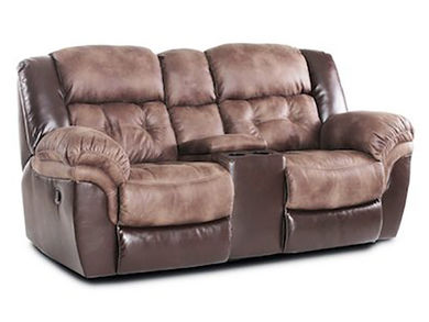 Fenway Reclining Console Loveseat