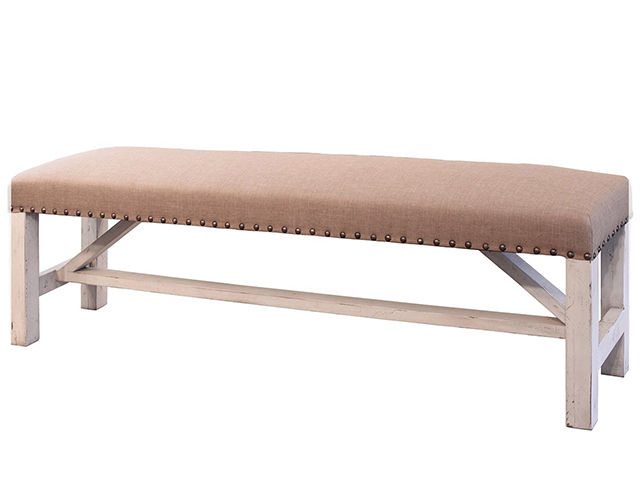 Picture of Terra White Wood Bench