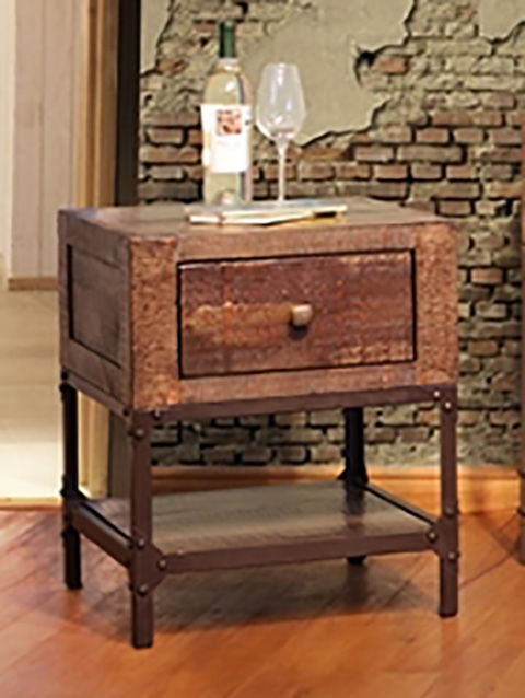 Picture of Urban Gold End Table with Drawer