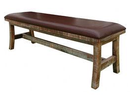 Antique Muliticolor Bench