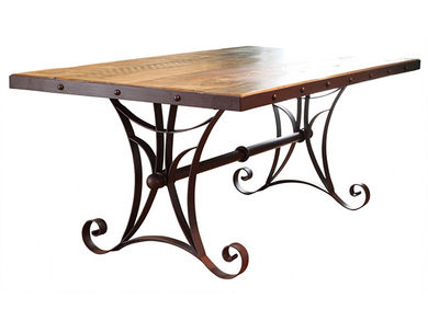 Antique Multicolor Table