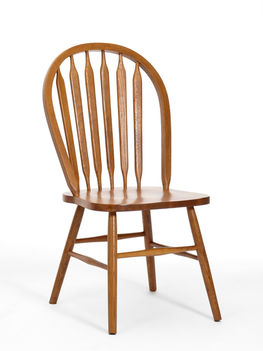 Classic Oak Chestnut Side Chair