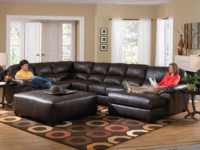 Picture of Lawson  Godiva Three Piece Sectional