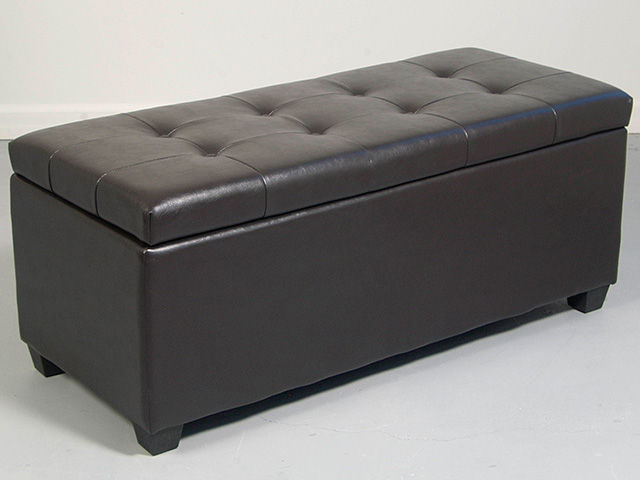 Picture of Brown Shoe Ottoman
