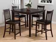 Marin Counter Height Table and Four Stools