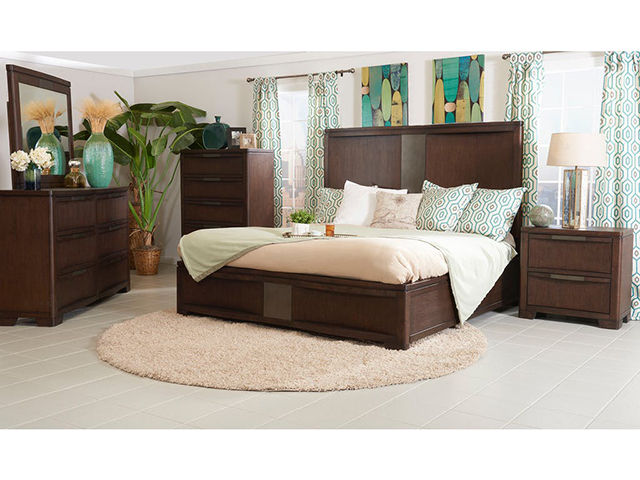 Tempo Queen Storage Bedroom Set | Unclaimed Freight Furniture