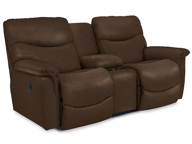 Picture of James Silt Reclining Console Loveseat