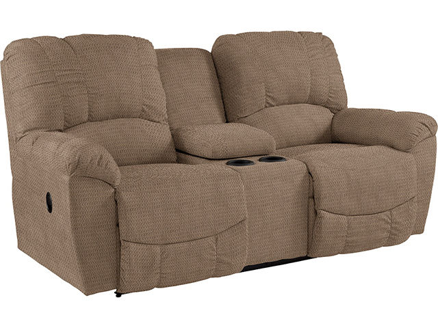 Hayes Reclining Console Loveseat With Power Board The