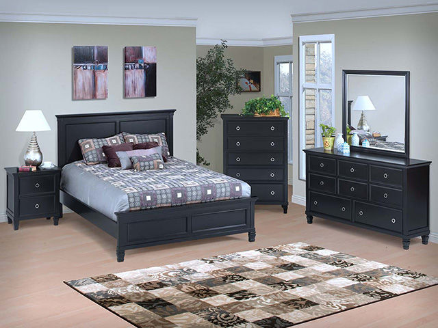 Picture of Tamarack Black King Bedroom Set