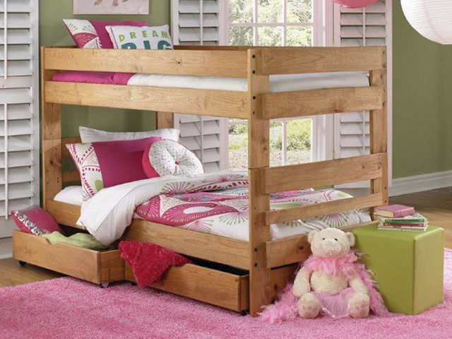 Picture of Twin Bunk Bed