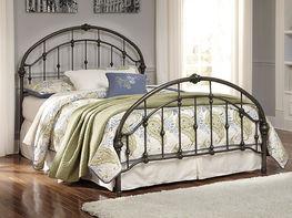 Queen Metal Bed Set
