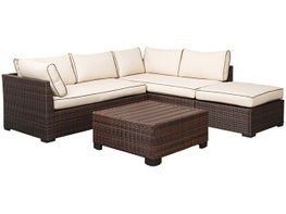 Loughran Sectional and Ottoman