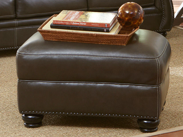 Picture of Longhorn Ghost Ottoman