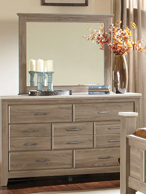 Picture of Stonehill Dresser and Mirror Set