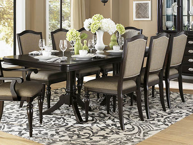 Marston Dining Table with Four Side Chairs