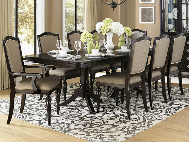 Picture of Marston Dining Table with Six Chairs