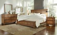 Alder Creek Queen Panel Storage Bedroom Set