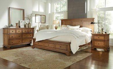 Alder Creek Queen Panel Storage Bedroom Set