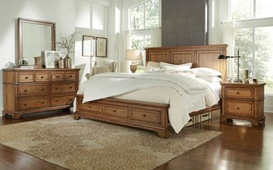 Picture of Alder Creek Queen Panel Storage Bed Set