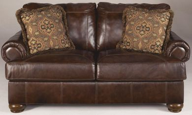 Axiom Walnut Loveseat