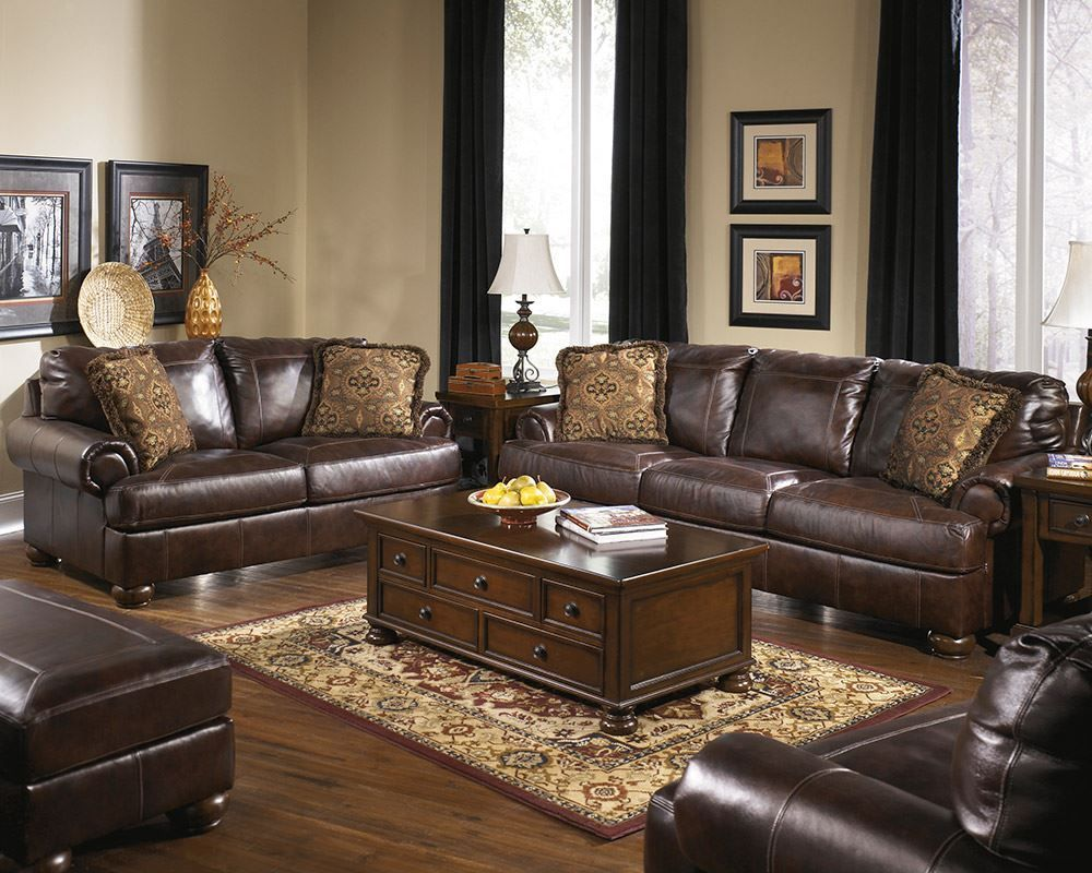 Picture of Axiom Walnut Loveseat