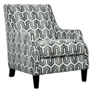 Gilmer Gunmetal Accent Chair