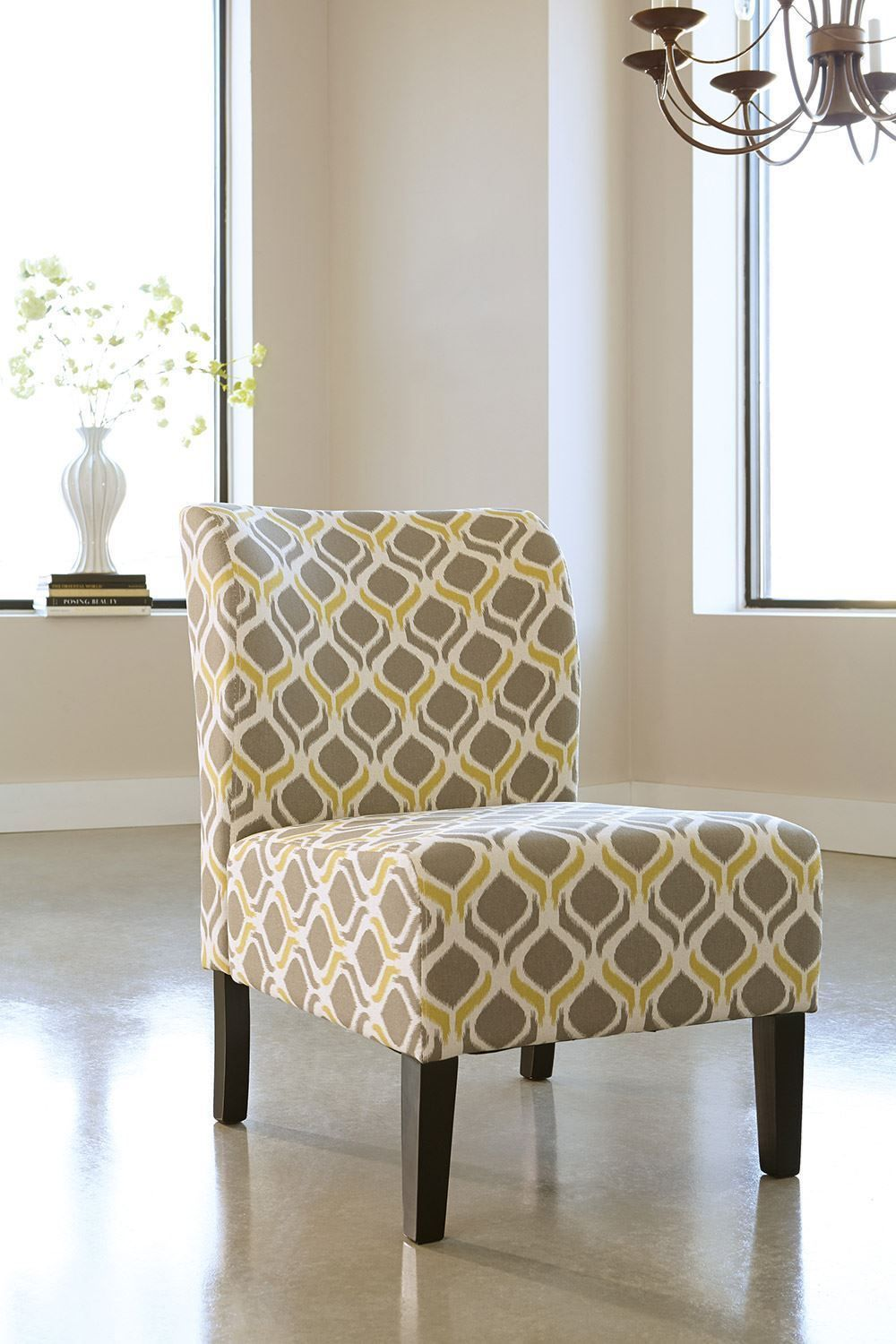 Picture of Honnally Gunmetal Accent Chair