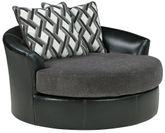 Kumasi Smoke Swivel Accent Chair