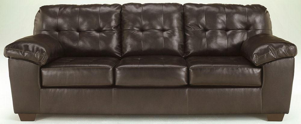 Picture of Alliston DuraBlend Chocolate Sofa