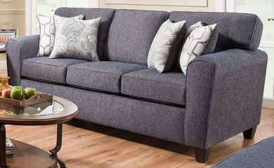 Uptown Denim Sofa