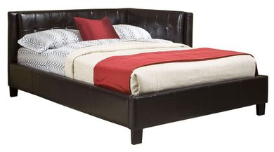 Rochester Full Upholstered Corner Bed Set