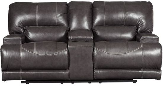Picture of McCaskill Gray Power Reclining Loveseat