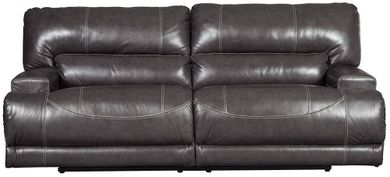 McCaskill Gray Power Reclining Sofa