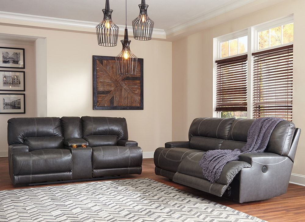 Picture of McCaskill Gray Power Reclining Sofa