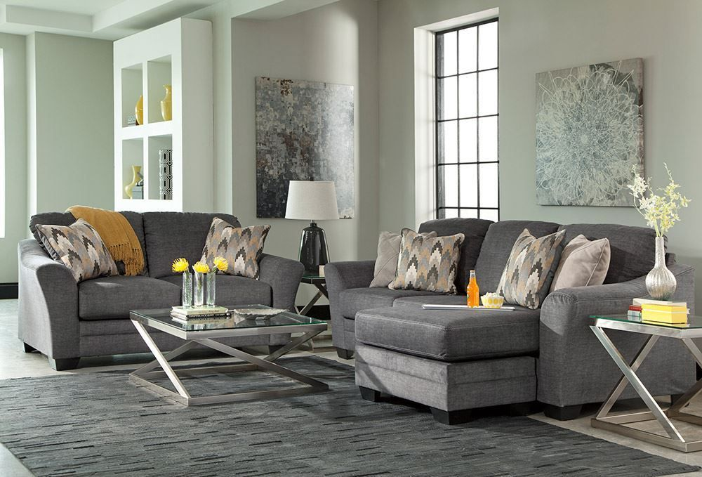 Picture of Braxlin Charcoal Loveseat