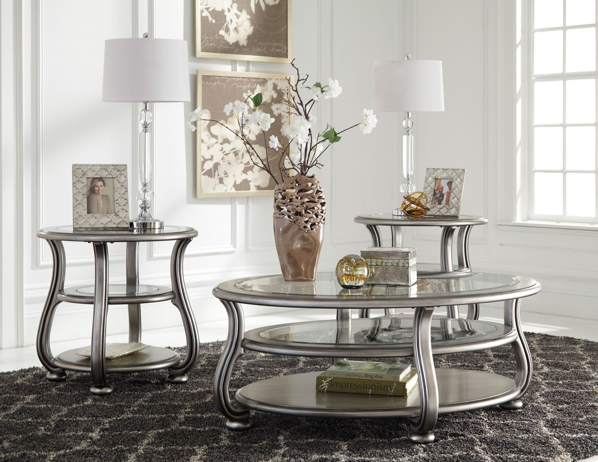 Picture of Coralayne Silver Cocktail Table
