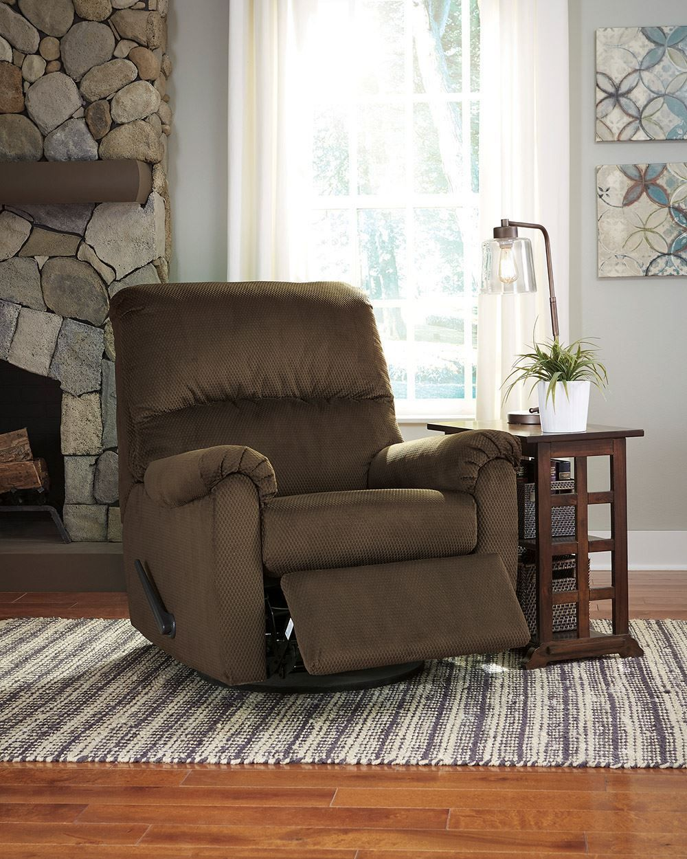 Picture of Bronwyn Cocoa Swivel Glider Recliner
