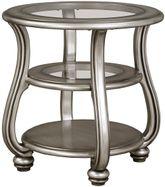 Coralayne Silver End Table