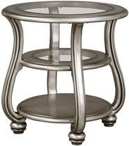 Coralayne Silver End Table