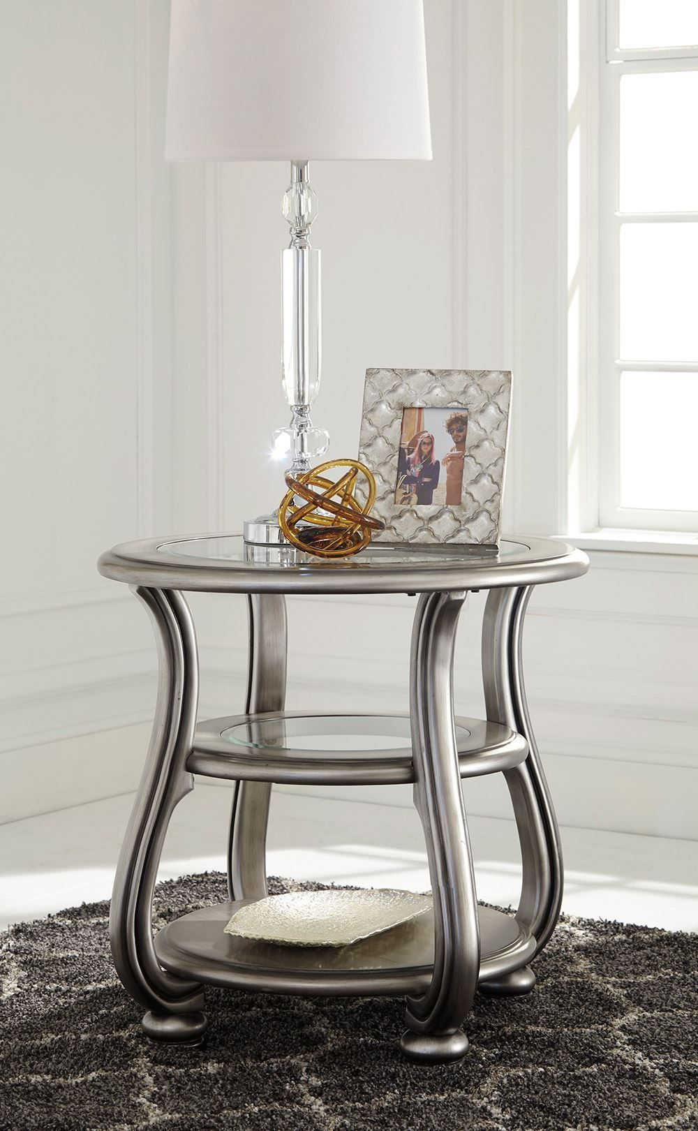 Picture of Coralayne Silver End Table